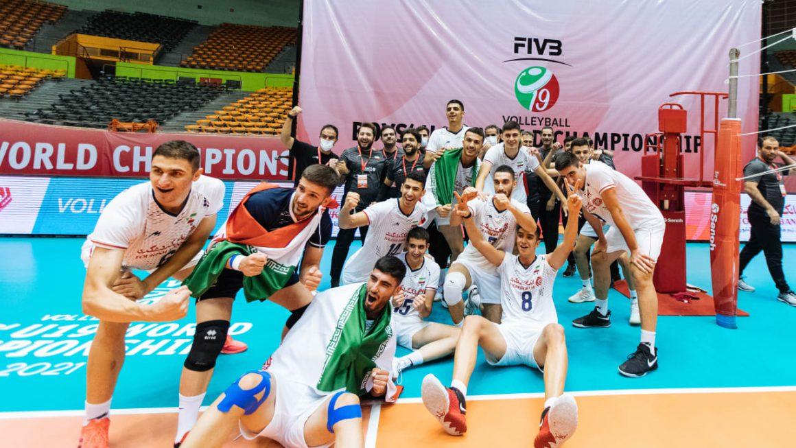 SPARKLING IRAN SHATTER RUSSIA FOR BOYS' U19 WORLDS BRONZE