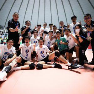 THAILAND STUN EGYPT WITH COMEBACK WIN AT MEN'S U21 WORLD CHAMPIONSHIP