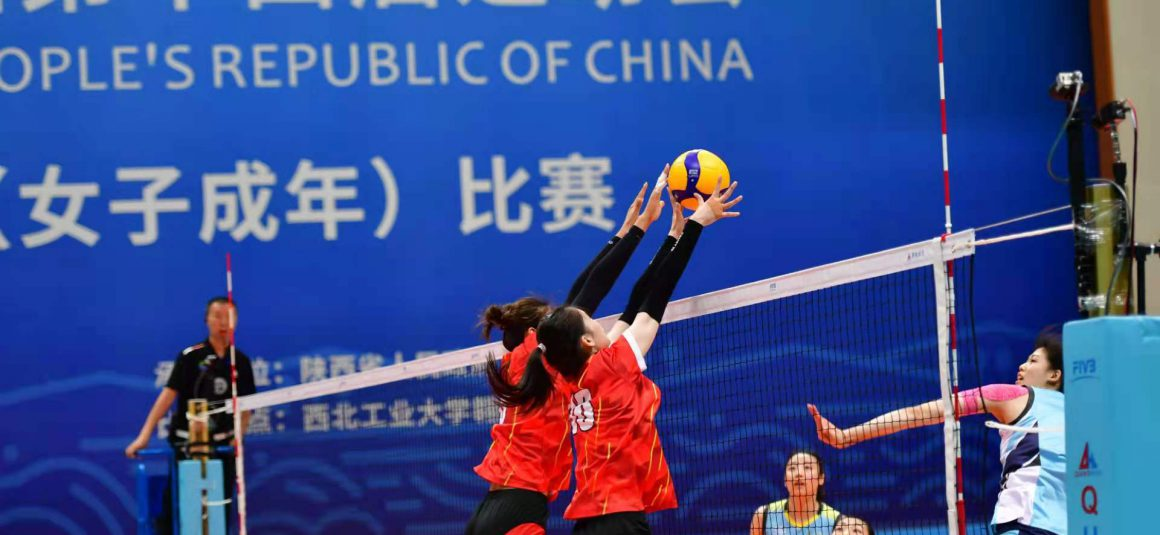 REIGNING CHAMPIONS JIANGSU FLEX THEIR MUSCLES AT CHINA NATIONAL GAMES