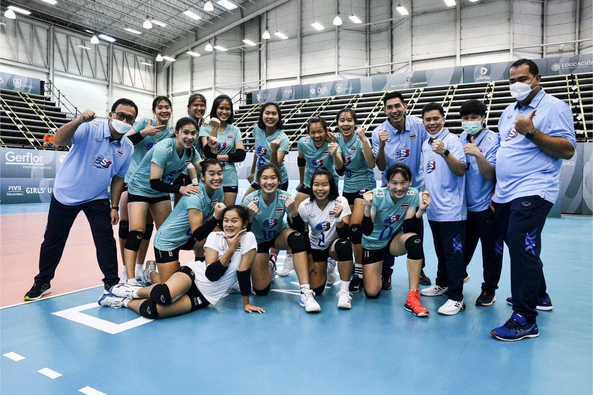 THAILAND DEMOLISH PUERTO RICO IN THRILLING STRAIGHT SETS AT GIRLS' U18 WORLD CHAMPIONSHIP