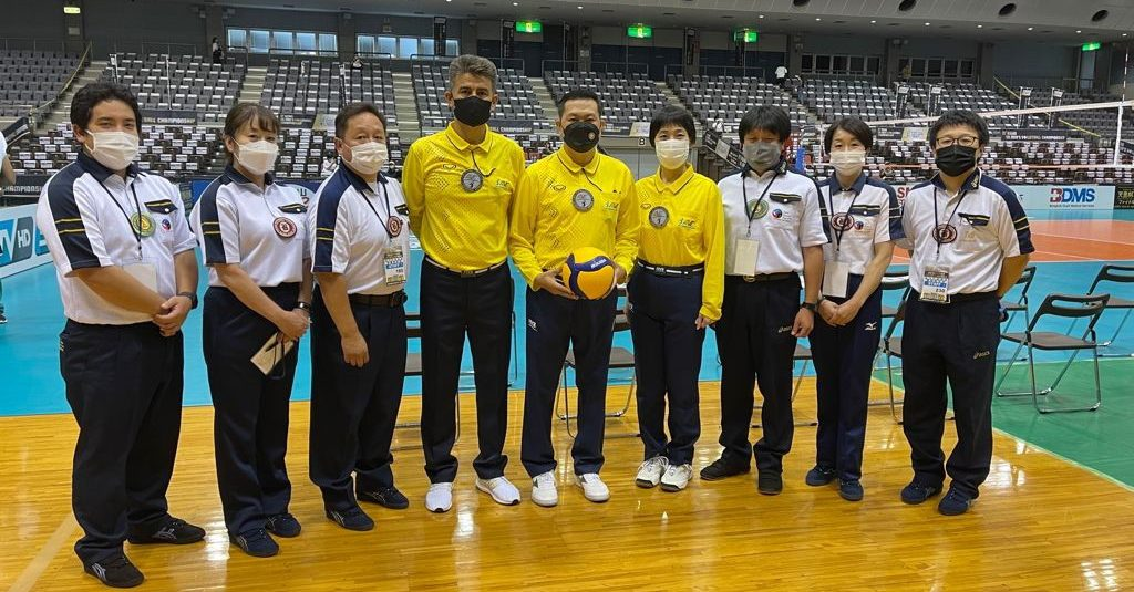 LIKE TEAMS, ASIAN SENIOR MEN'S CHAMPIONSHIP REFS HAVE NEW HEALTH, SAFETY PROTOCOLS