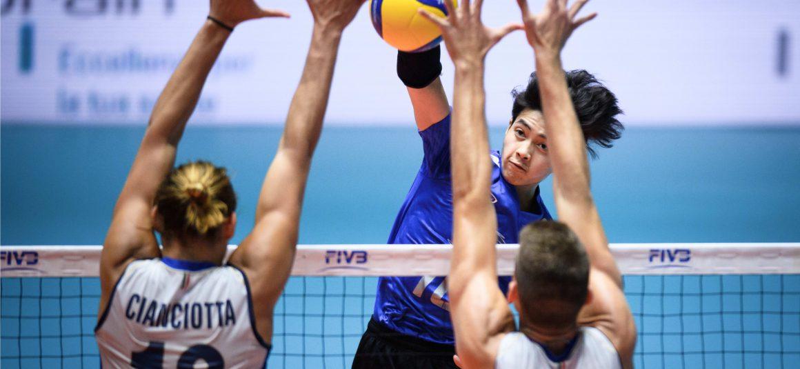 THAILAND SUFFER FIRST LOSS AT MEN'S U21 WORLD CHAMPIONSHIP