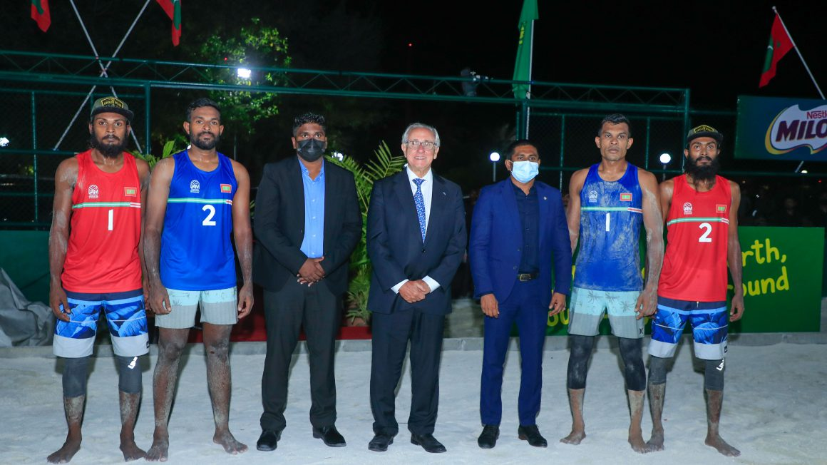 FIVB PRESIDENT APPROVES TWO-YEAR VOLLEYBALL EMPOWERMENT COACHING SUPPORT PROGRAME FOR MALDIVES