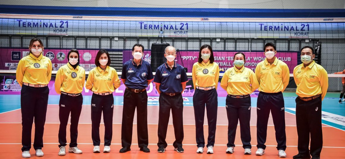 REFEREES OFFICIATING AT 2021 ASIAN WOMEN'S CLUB CHAMPIONSHIP ANNOUNCED