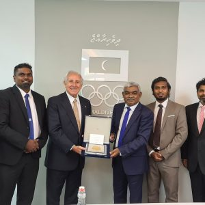 FIVB PRESIDENT DISCUSSES HUGE POTENTIAL OF BEACH VOLLEYBALL WITH HIGH-LEVEL SPORTS AND GOVERNMENT OFFICIALS IN MALDIVES