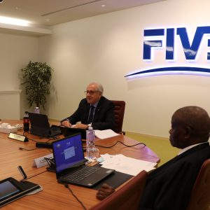 FIVB FINANCE COMMISSION MEETING HELD VIA A VIDEOCONFERENCE