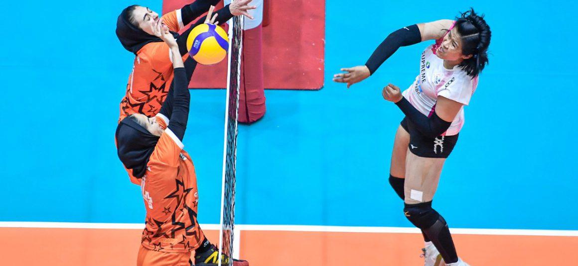 SUPREME CLAIM BRONZE AFTER DEMOLISHING SAIPA 3-0 IN ASIAN WOMEN'S CLUB CHAMPIONSHIP