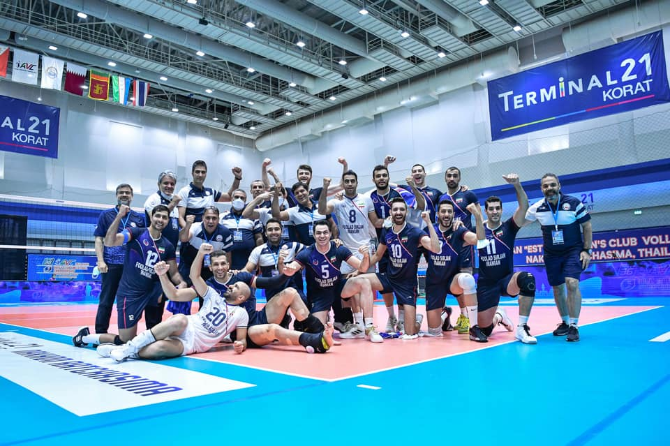SIRJAN FOULAD IRANIAN SEE OFF NAKHON RATCHASIMA 3-0 TO REMATCH WITH AL-ARABI IN ASIAN MEN'S CLUB CHAMPIONSHIP SHOWDOWN
