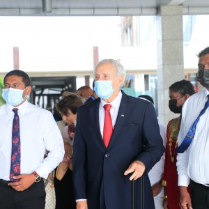 FIVB PRESIDENT VISITS MALDIVES TO DISCUSS BRIGHT FUTURE FOR BEACH VOLLEYBALL