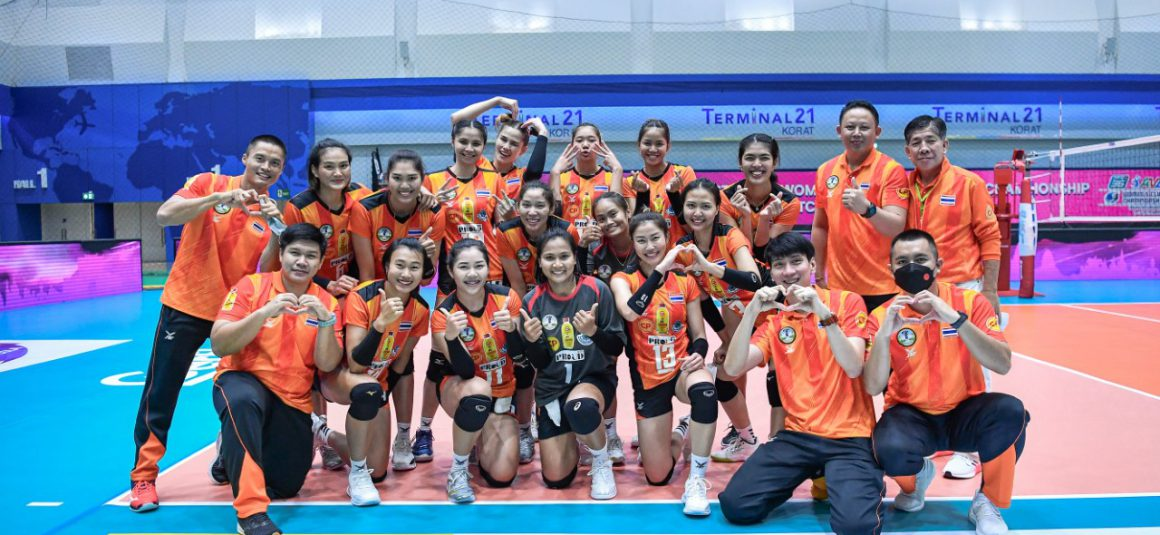 CHATCHU-ON STEERS NAKHON RATCHASIMA TO 3-0 TRIUMPH AGAINST SUPREME, FINAL SHOWDOWN AT ASIAN WOMEN'S CLUB CHAMPIONSHIP