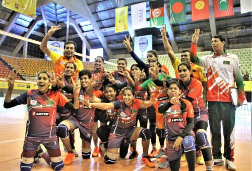 Bangladesh celebration after beat Kyrgyzatan..............1