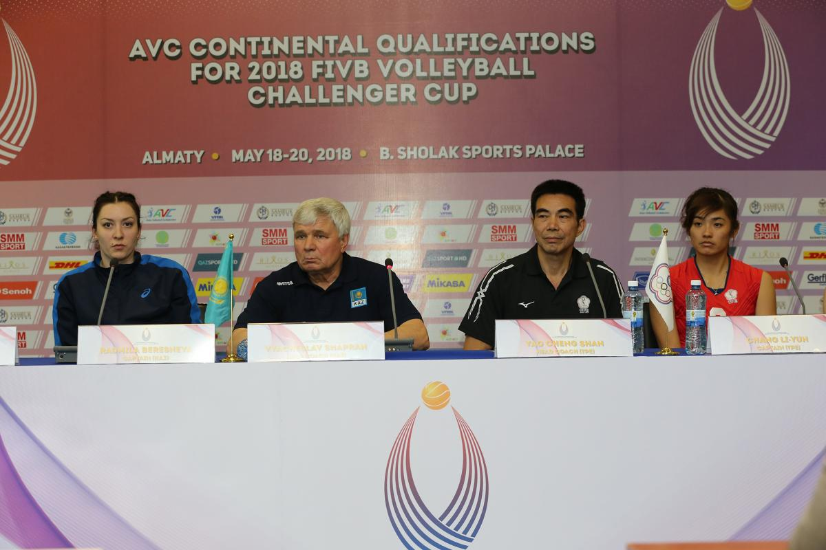 AVC Continental Qualifications for 2018 FIVB Volleyball Challenger